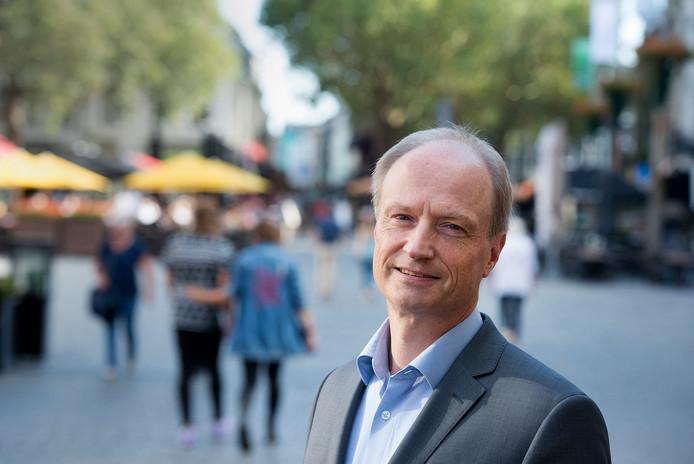 Arnoud van Vliet, de nieuwe fractievoorzitter van de VVD in Breda.