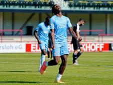 'Vollgassfussball' bevalt PSV-uitblinker Noni Madueke wel: 'De laatste goal was het mooist'