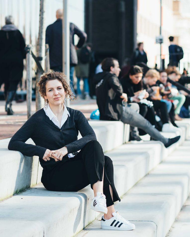 Anniek de Ruijter, directeur van Bureau Clara Wichmann. Beeld Rebecca Fertinel