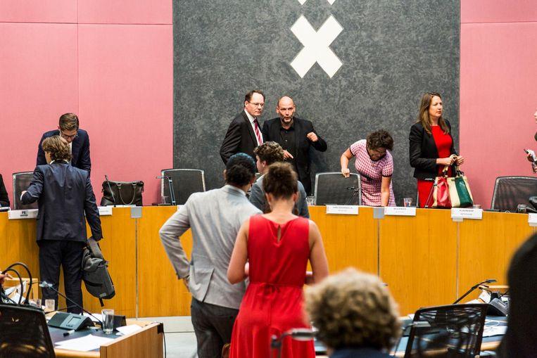 Woensdag vergaderde de gemeenteraad 4,5 uur over haar benoeming, ook geen goed teken. Beeld Tammy van Nerum