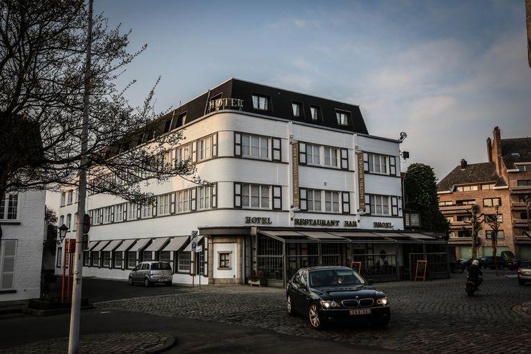 Het voormalige Hotel Broel in Kortrijk