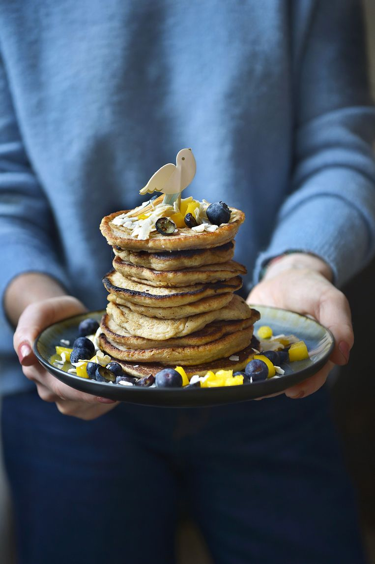 Glutenvrije pancakes.