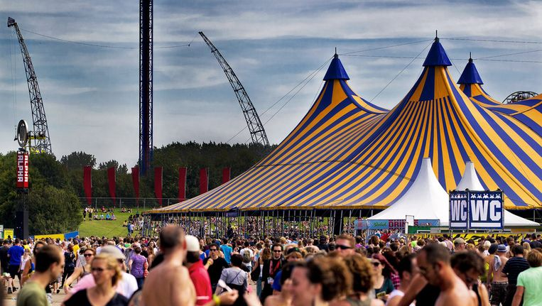 In het kielzog van succesnummer Lowlands ontstonden steeds meer festivals en festivalletjes. Beeld ANP