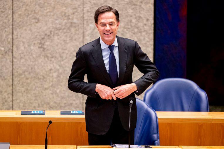 Donderdag hoopt Rutte een conference call te hebben met de premiers van Italië en Spanje en EU-president Charles Michel over een coronanoodfonds. Beeld BSR Agency