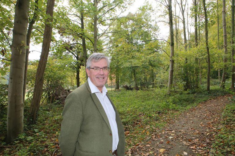 Chris Vervliet wil meer groen in de gemeente.