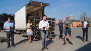Staden gaat in op de Flower Boost Challenge en deelt 700 bloemen uit aan medewerkers