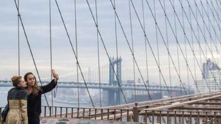 De Brooklyn Bridge. Beeld null