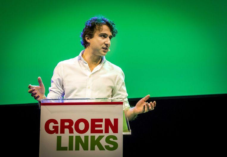 Jesse Klaver.  Beeld ANP - Lex van Lieshout.