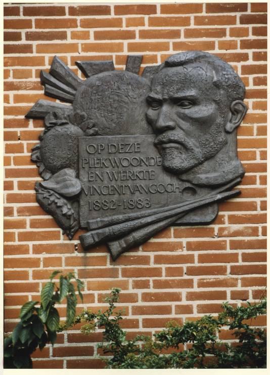 Vincent van Gogh woonde aan de Hendrik Hamelstraat in Den Haag.