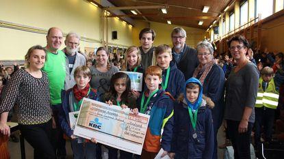 Jongeren verzamelen 4.100 euro voor Noord-Zuidrand