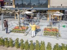 Cederhof opent coronaproof terras bij zorgcentrum; 'Hij heeft dit zo vreselijk gemist'