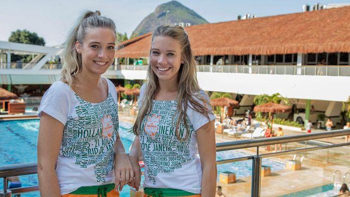 Danique en Mandy Miedema stralen in Rio