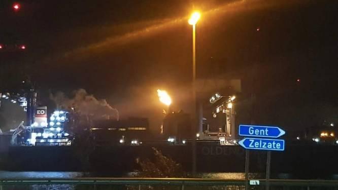 Brandweer krijgt verontrustende telefoontjes voor... onderhoudswerken en affakkeling bij ArcelorMittal