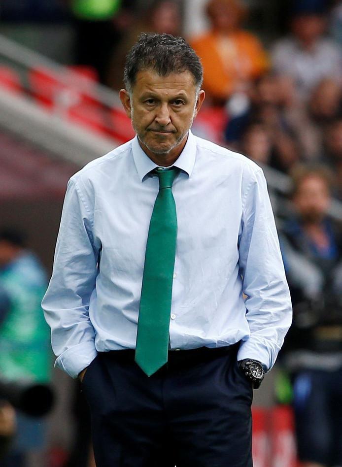 Juan Carlos Osorio maakt deze week een tournee door Europa.