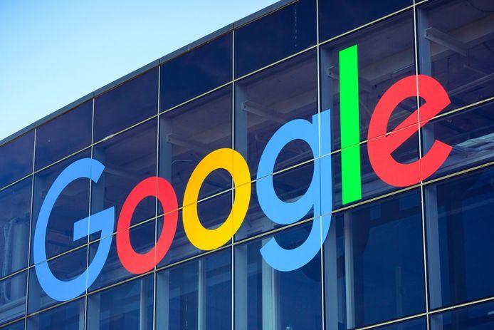 Het Google-hoofdkantoor in Mountain View in Californië.