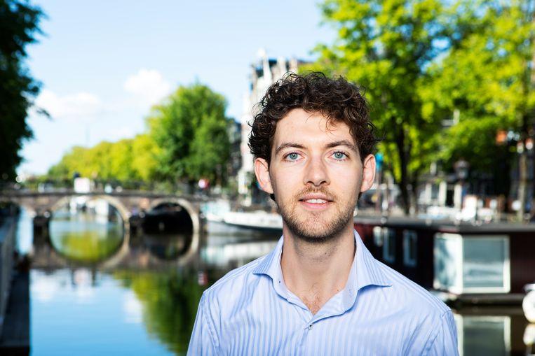 Daan Boertien: 'Omdat ik zelf gezongen heb, weet ik wel vrij goed hoe het lichaam werkt bij de zangers die ik begeleid.' Beeld Martijn Gijsbertsen