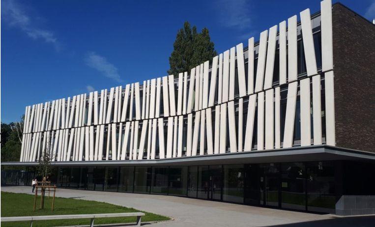 Een realisatie van het bedrijf Elbeton in Sint-Amandsberg. Elbeton is nu overgenomen door de Groep Delmar