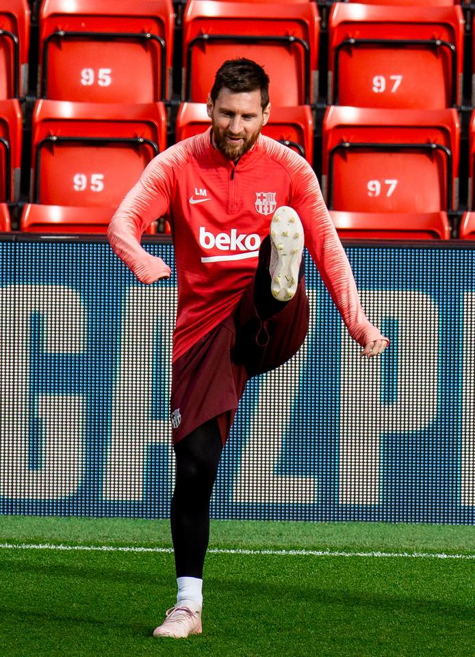 Messi op archiefbeeld.