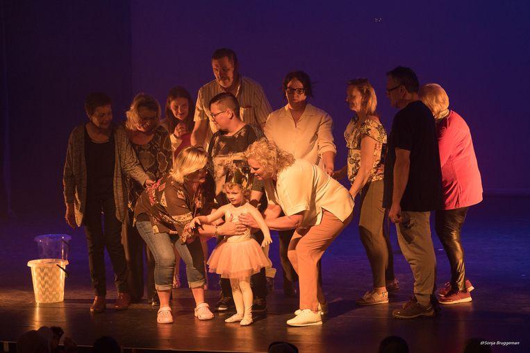 Een beeld van de voorstelling.