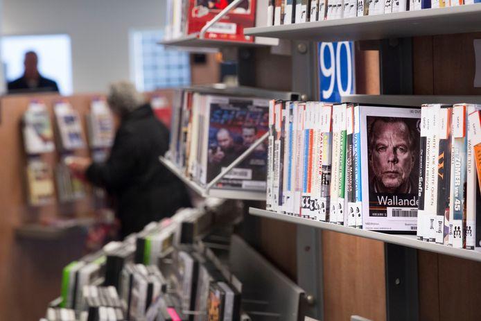 De bibliotheek aan het Meiveld in Veldhoven.