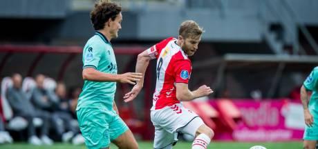 Plots ook een basisplaats voor Jop van der Avert bij Willem II: 'Ik had gezonde spanning'