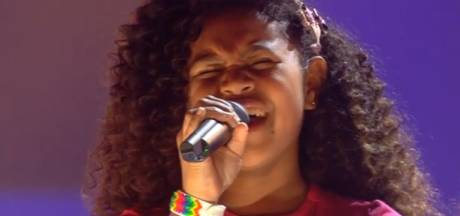 Yosina begonnen aan finale The Voice Kids