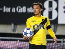 Moreno Rutten is het manusje van alles bij NAC: 'Maar ik focus me op een plek achterin'