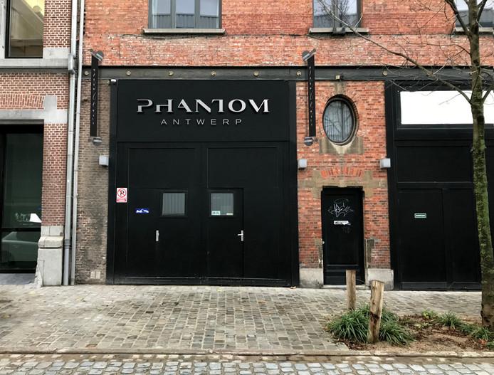 De deuren van club Phantom gingen eind februari open.