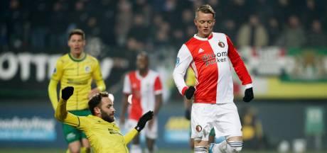Feyenoord meldt Larsson ziek voor bekerduel