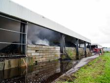 Stank door brand in composthoop bij afvalbrengstation in Bergschenhoek