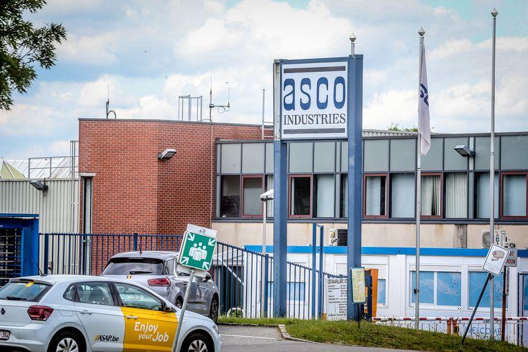 Bij Asco in Zaventem ligt de productie al zeker tot woensdag stil.