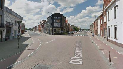 Kruispunt Diksmuidse- en Oostnieuwkerksesteenweg week dicht voor verkeer