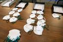 Bij Afpro in Alkmaar worden sinds kort mondkapjes gemaakt voor de zorg.