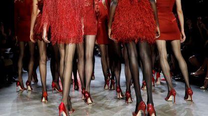 Modeshow in GC 't Zonnerad op Vrouwendag