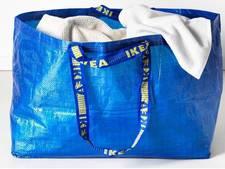 Peperdure handtas lijkt wel heel erg op een tas van... Ikea