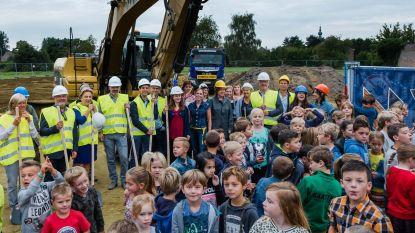 'De Kameleon' bouwt letterlijk aan nieuwe kleuterschool