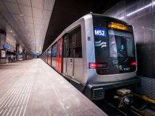 Metro 52 vertraagd na een beroving