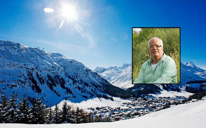 Presentator Eef Mokkink verongelukte tijdens het skiën.