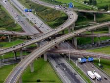 Meer auto's op Haagse rijkswegen in 2017 dan landelijk gemiddelde