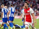 Ajax boekt dankzij Tagliafico ruime zege op Heerenveen