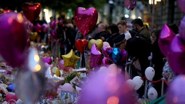 Sommige islamitische scholieren zijn ervan overtuigd dat de aanslag in Manchester in scène is gezet Beeld anp