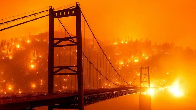 Californië beleeft ergste bosbrandenseizoen ooit