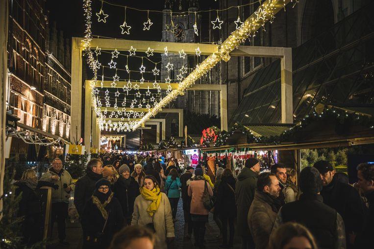 Het is ook dit jaar weer over de koppen lopen op de Gentse Winterfeesten.