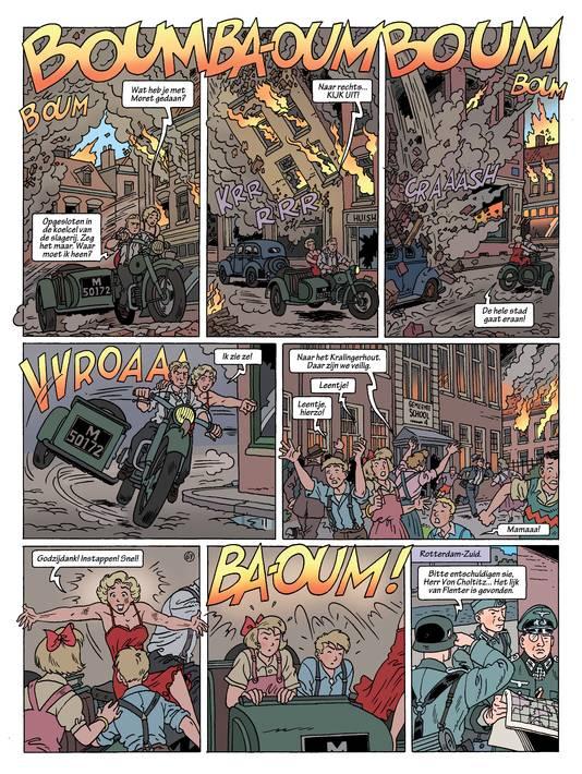Stripalbum De Meimoorden door Eric Heuvel en Jacques Post.