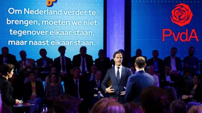 "Paniek bij Nederlandse premier Rutte na black-out tijdens debat: ""Caroliene, help!"""