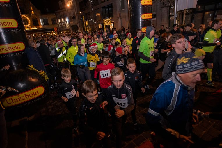 Clarebout Christmasrun laat 1.270 mensen lopen