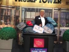 Le musée Tussaud de Berlin jette sa statue de Donald Trump à la poubelle
