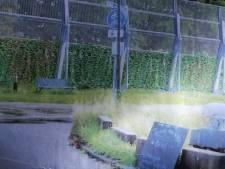 Bewoners Willemsdorp maken bezwaar tegen glazen geluidsscherm