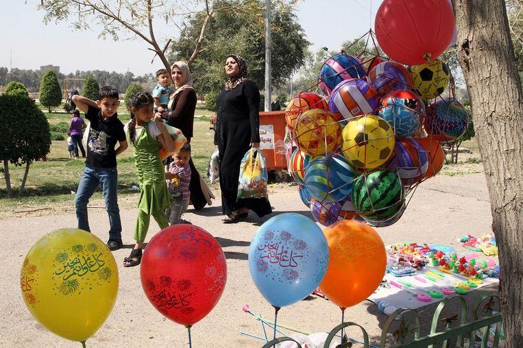 Nowruz in Irak. Beeld null
