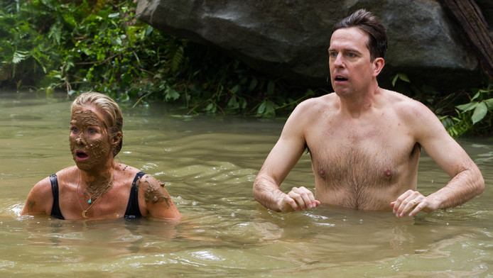 Christina Applegate en Ed Helms in Vacation.